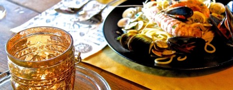 Frisch aus dem Meer: Pasta allo Scoglio