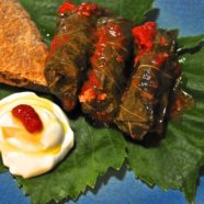 Koupepia – Vicky´s stuffed wine leaves