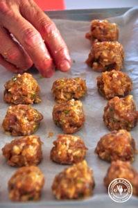 12 chicken baellchen