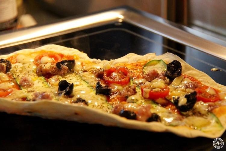 8_Pizza backen