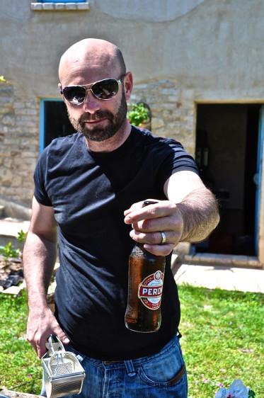 ein bier gibts auch