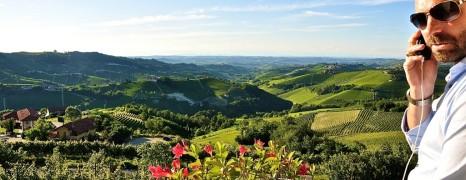 Das Giuseppe-Mobil unterwegs in Italia : Piemont